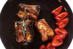"""Вкусные рецепты: Торт """"Пианино"""" для моей талантливой крестницы Кристины, Салат с ананасами, Фаршированная курица """" чудо без перьев"""""""